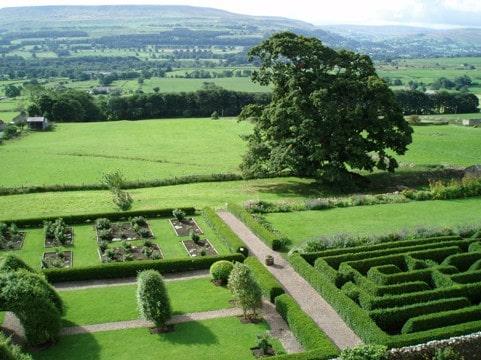 Medieval Maze Garden